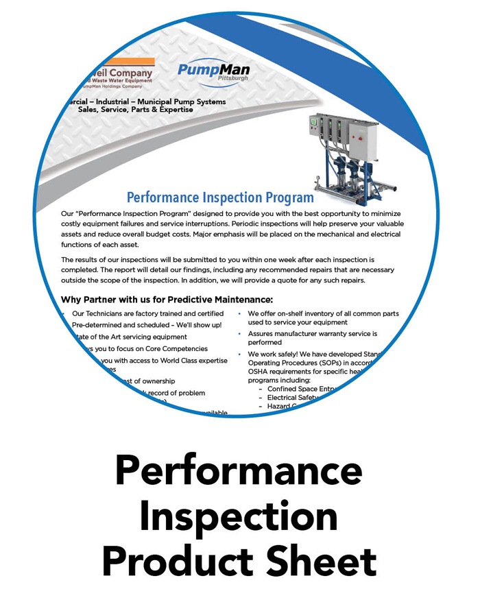 Performance Inspection Product Sheet